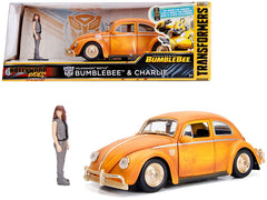 Volkswagen Beetle Transformers BumbleBee Jada Hollywood Rides 1/24