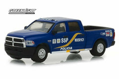 Dodge Ram 1500 2017 Police Greenlight Hot Pursuit 1/64
