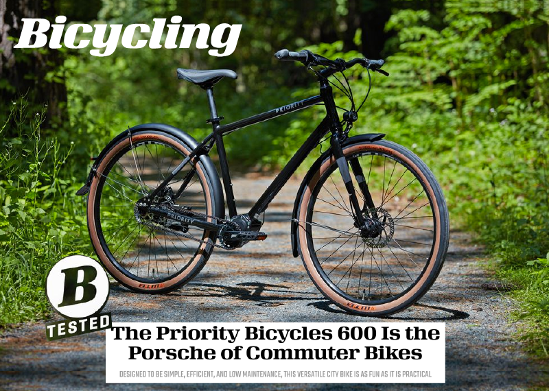 """The Porsche of Commuter Bikes"" Bicycling Reviews The New Priority 600"