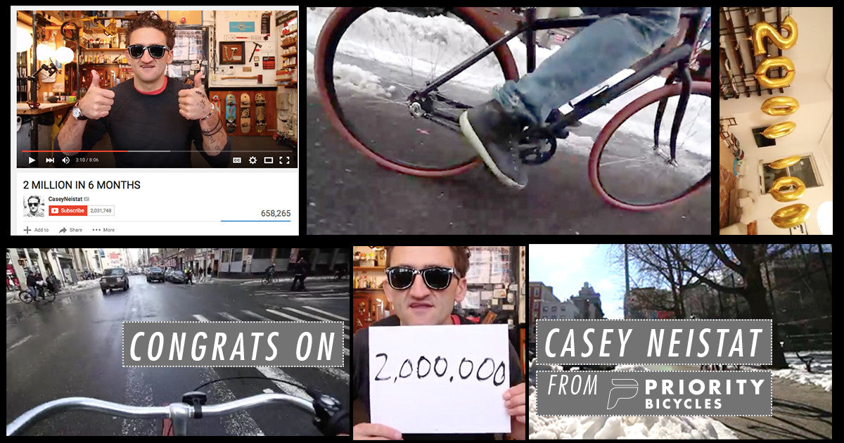 CASEY NEISTAT, 2 MILLION SUBSCRIBERS & A PRIORITY CLASSIC?!