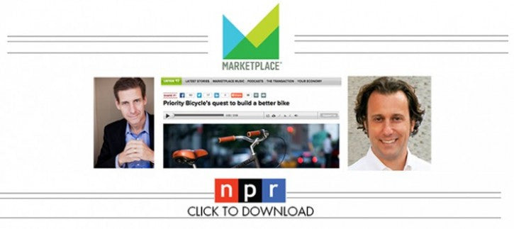 "CEO DAVE WEINER INTERVIEWED ON NPR: APM'S ""MARKETPLACE"" WITH KAI RYSSDAL"