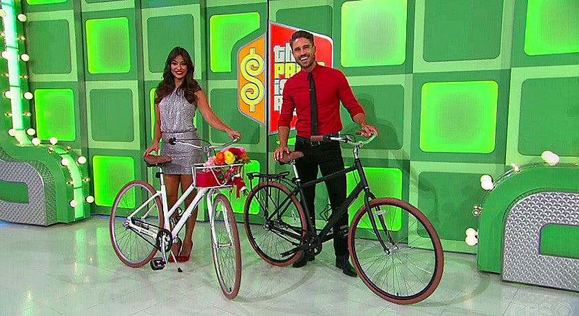PRIORITY BICYCLES ON THE PRICE IS RIGHT