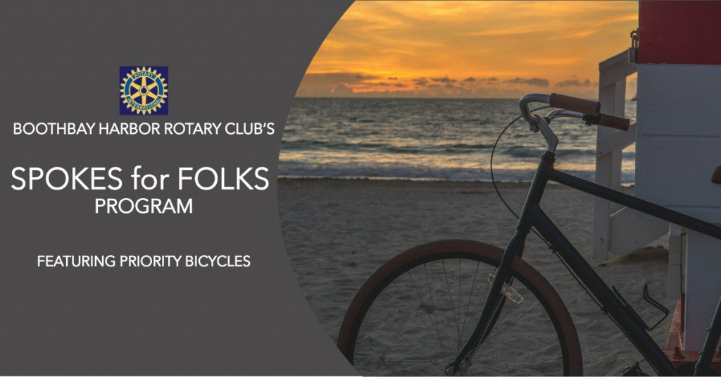 SPOKES FOR FOLKS PROGRAM IN BOOTHBAY HARBOR FT. PRIORITY
