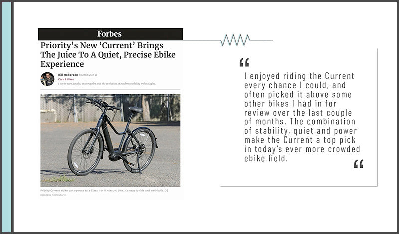 Forbes Reviews Priority Current eBike