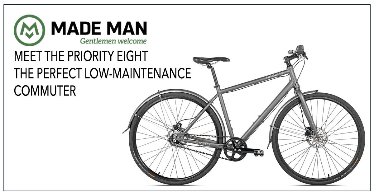 "THE EIGHT NAMED ""THE PERFECT LOW-MAINTENANCE COMMUTER"" BY MADEMAN"