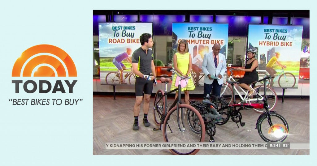 "PRIORITY BICYCLES FEATURED ON THE TODAY SHOW ""BEST BIKES TO BUY"""