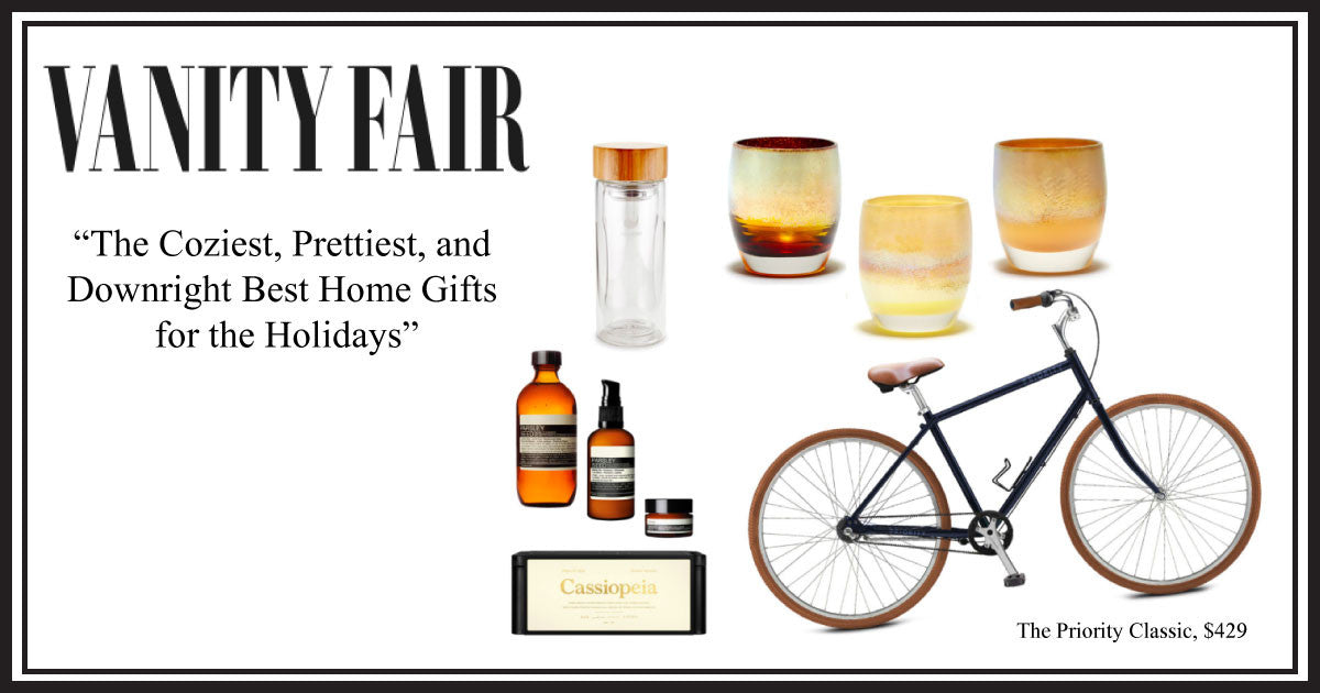 VANITY FAIR'S BEST HOME GIFTS FOR THE HOLIDAYS FT. THE PRIORITY CLASSIC