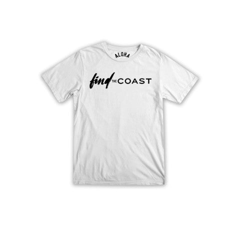 FIND THE COAST T-SHIRT BY ALOHA BEACH CLUB