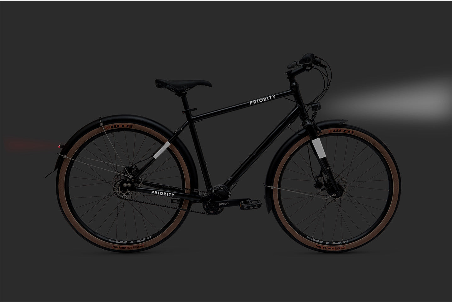 PRIORITY 600 dynamo and lights