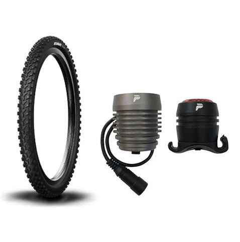 Winter Package (Studded Tires & High Power Light Set)