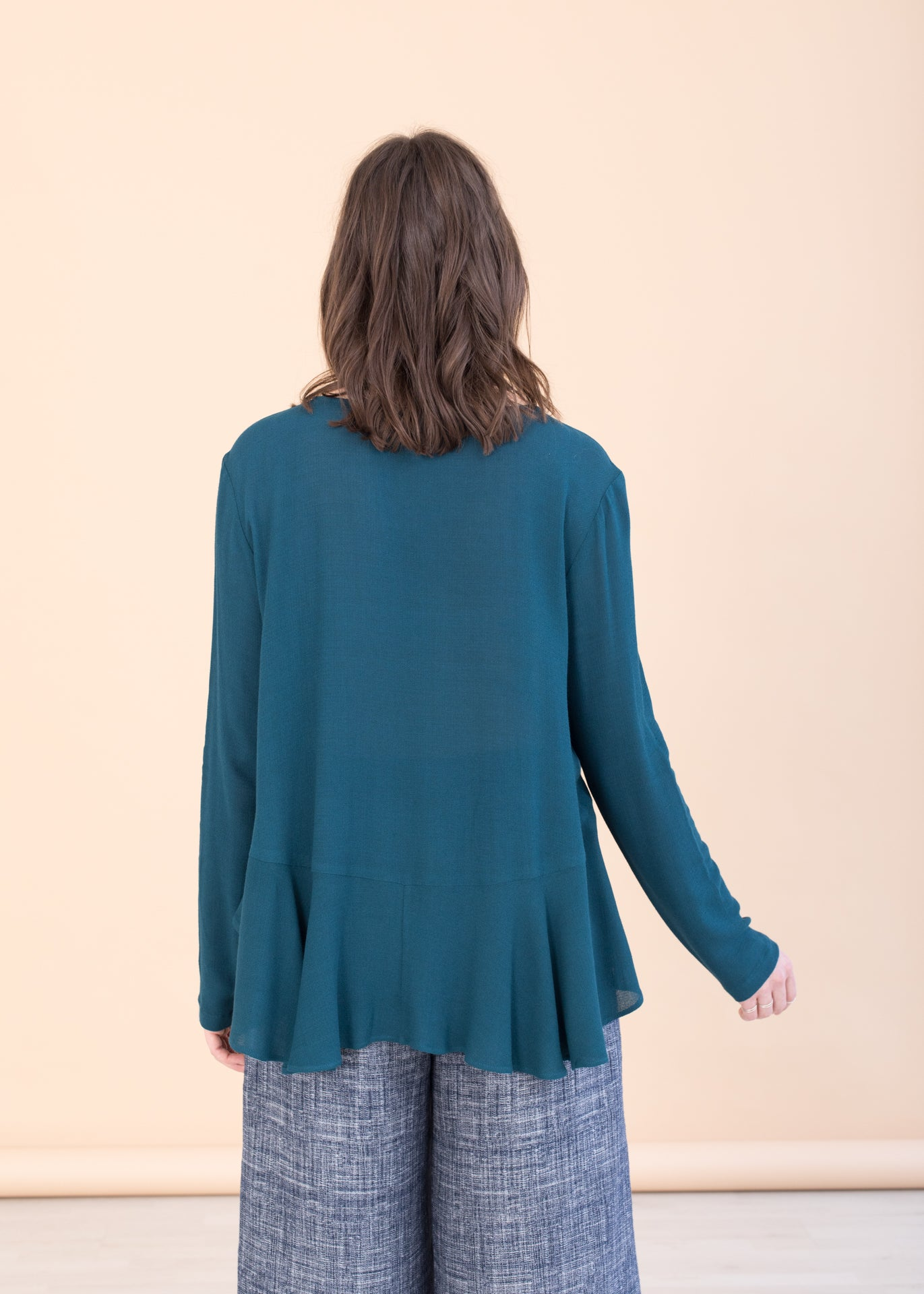 Midnight – Top in Teal