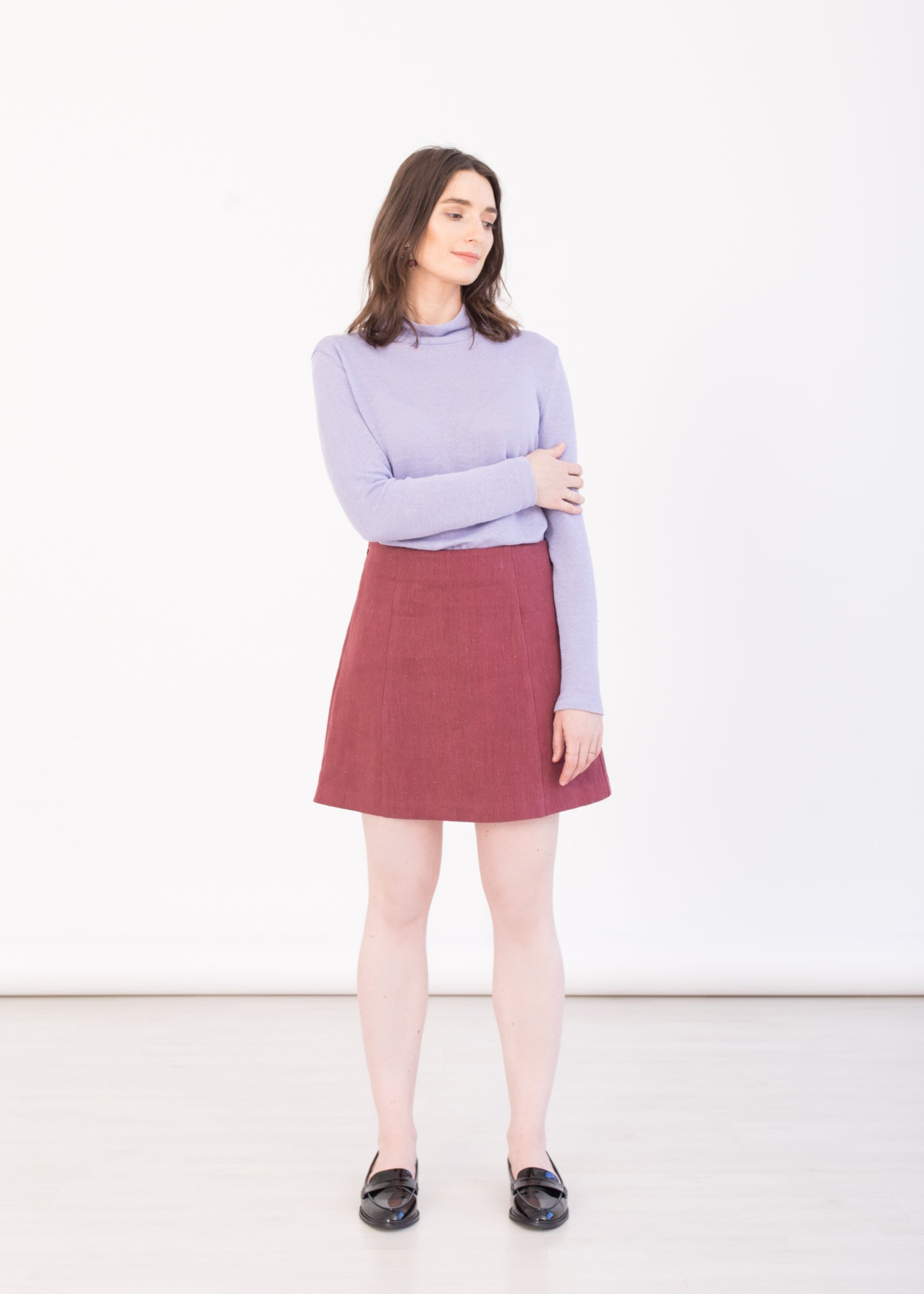 Grace - High Waisted Mini Skirt