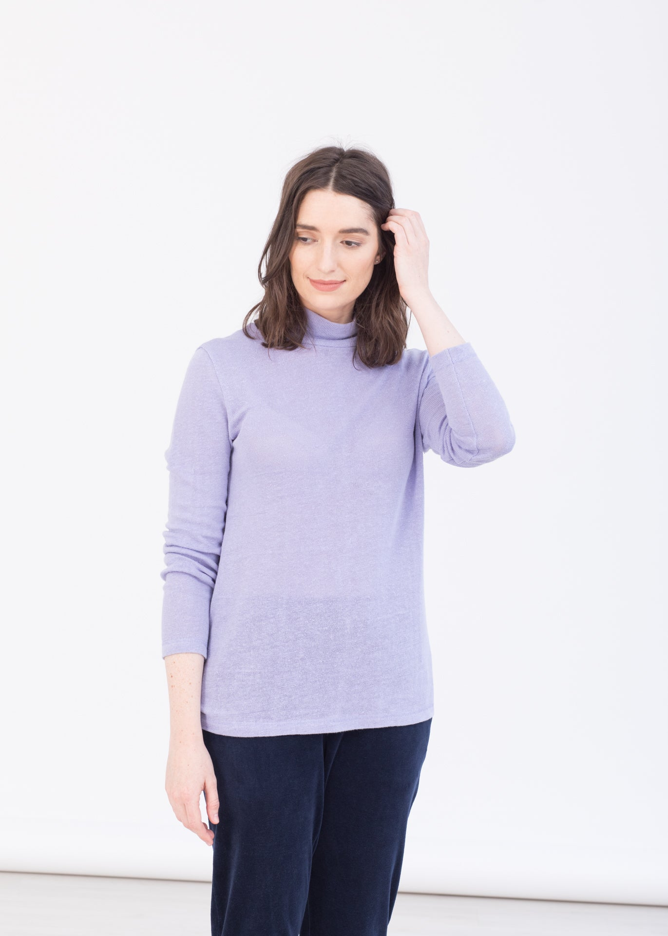 Park – hemp turtleneck sweater