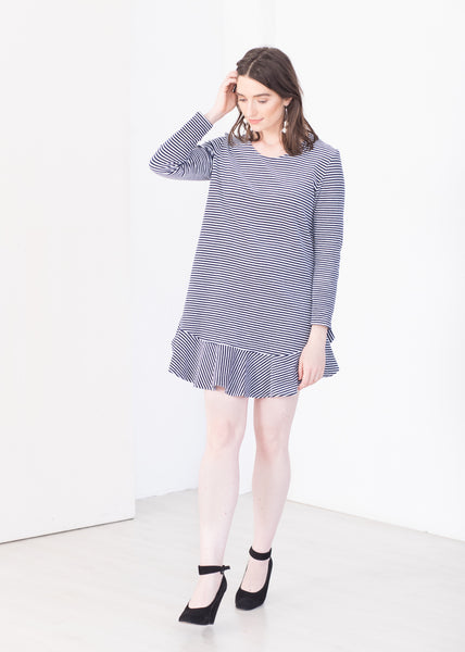 Take a line for a walk - Organic Cotton Dress