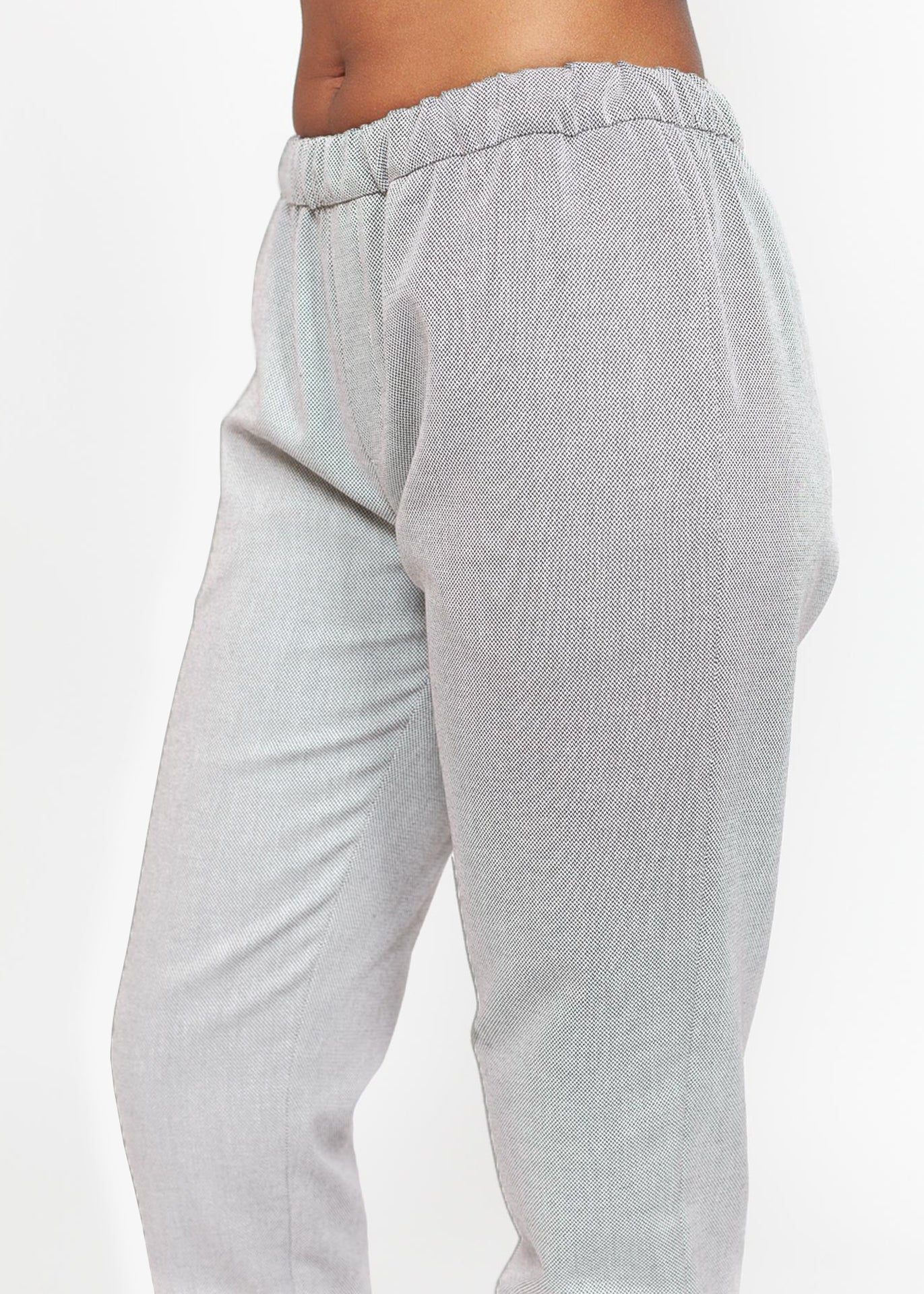 Cecil - Slim-leg Pants in Grey
