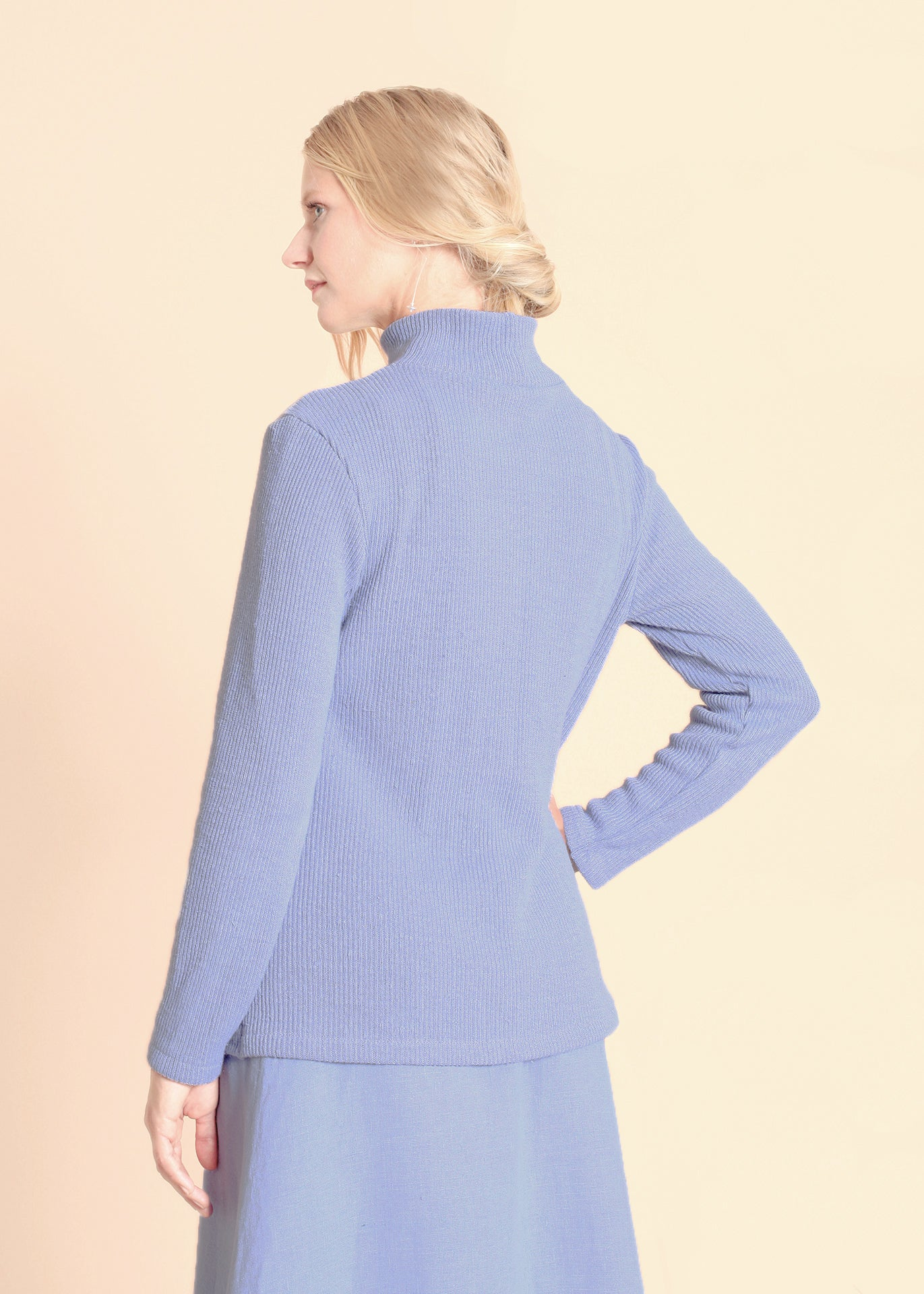 Park - Turtleneck Sweater in Lavender