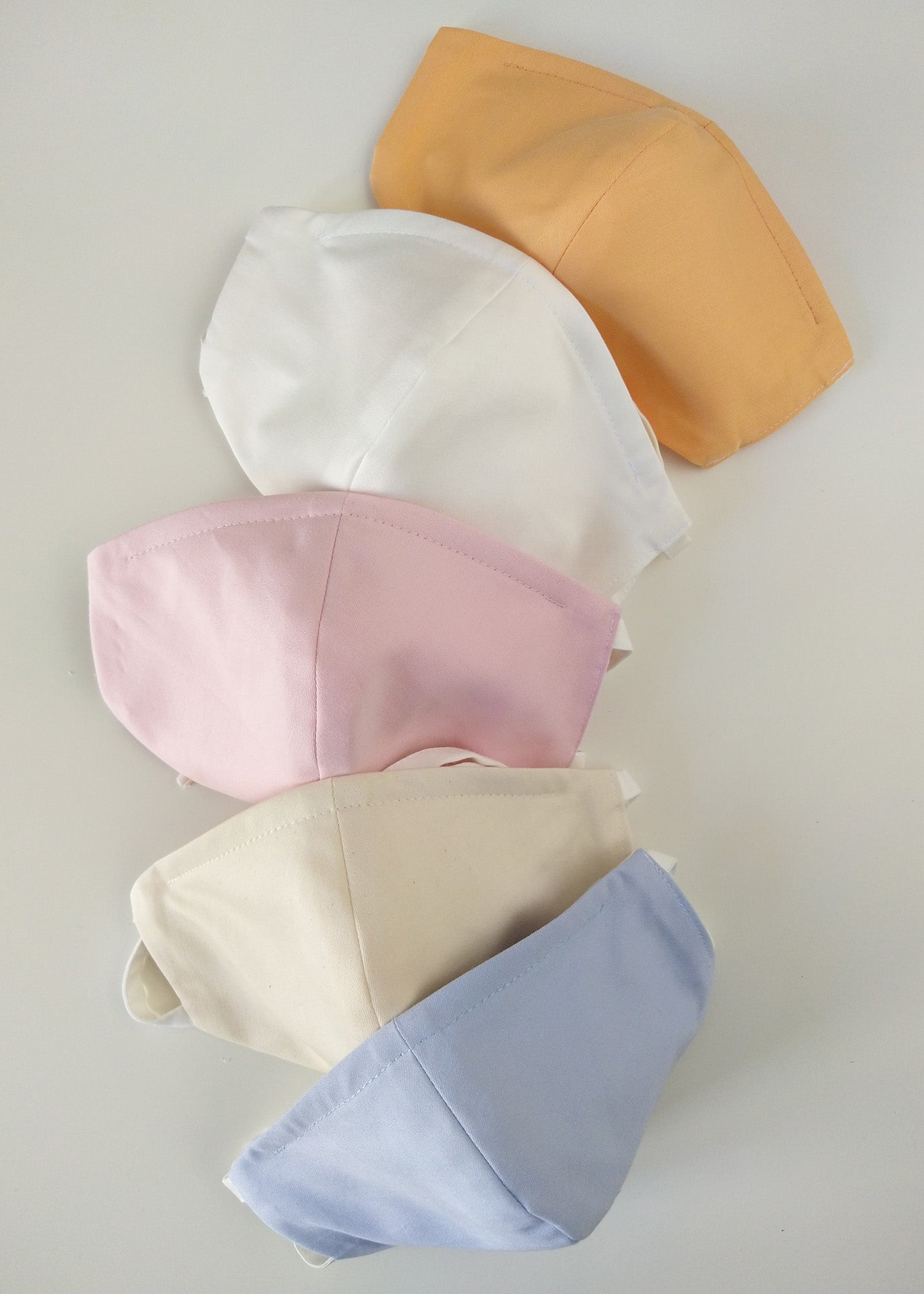 Organic Cotton Nose-Mouth Mask - Pink