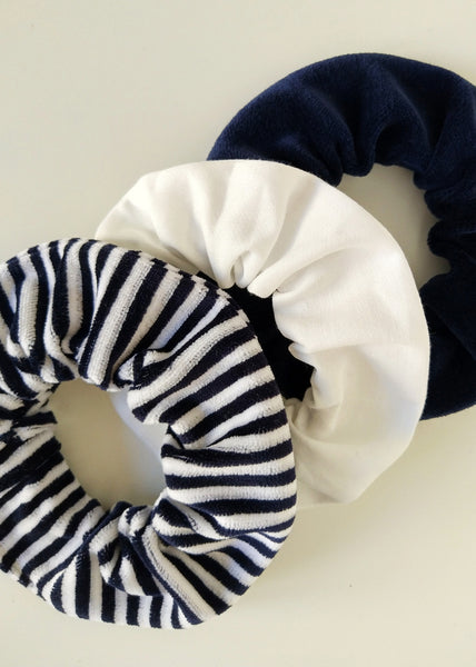 Midnight – Scrunchie Set of 3