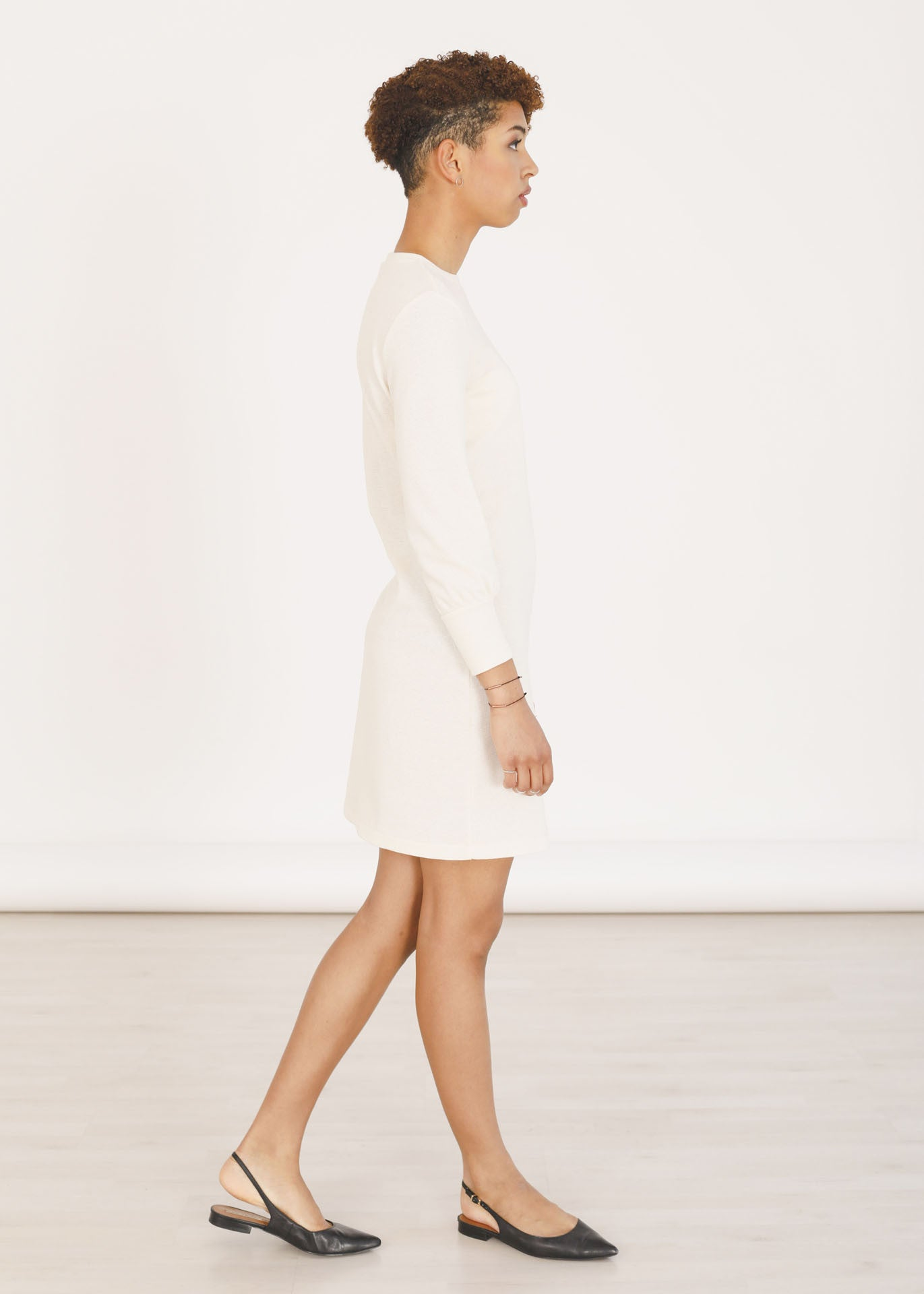Tana - Sweater Dress in Ivory