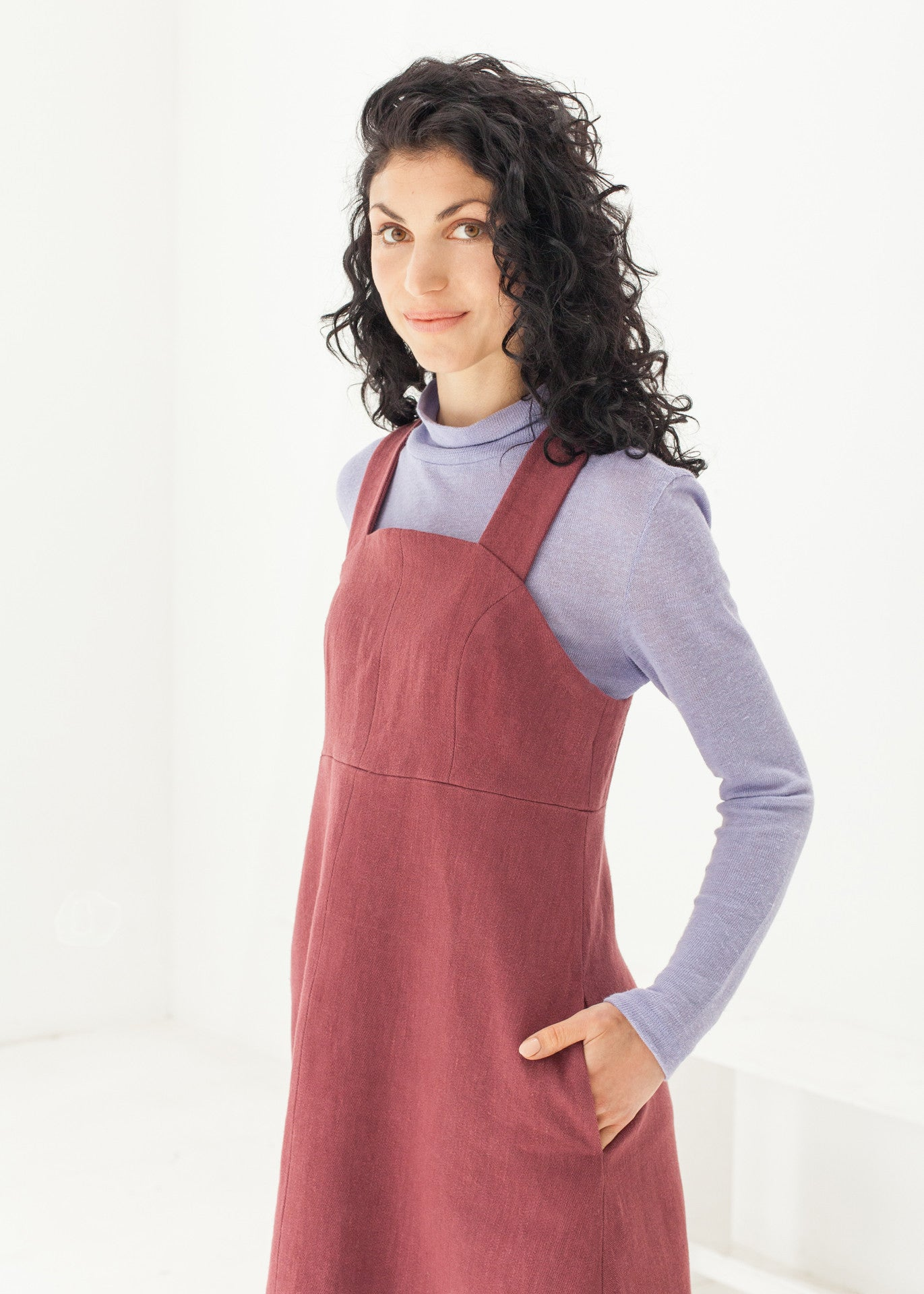 Nocturne -  Pinafore dress