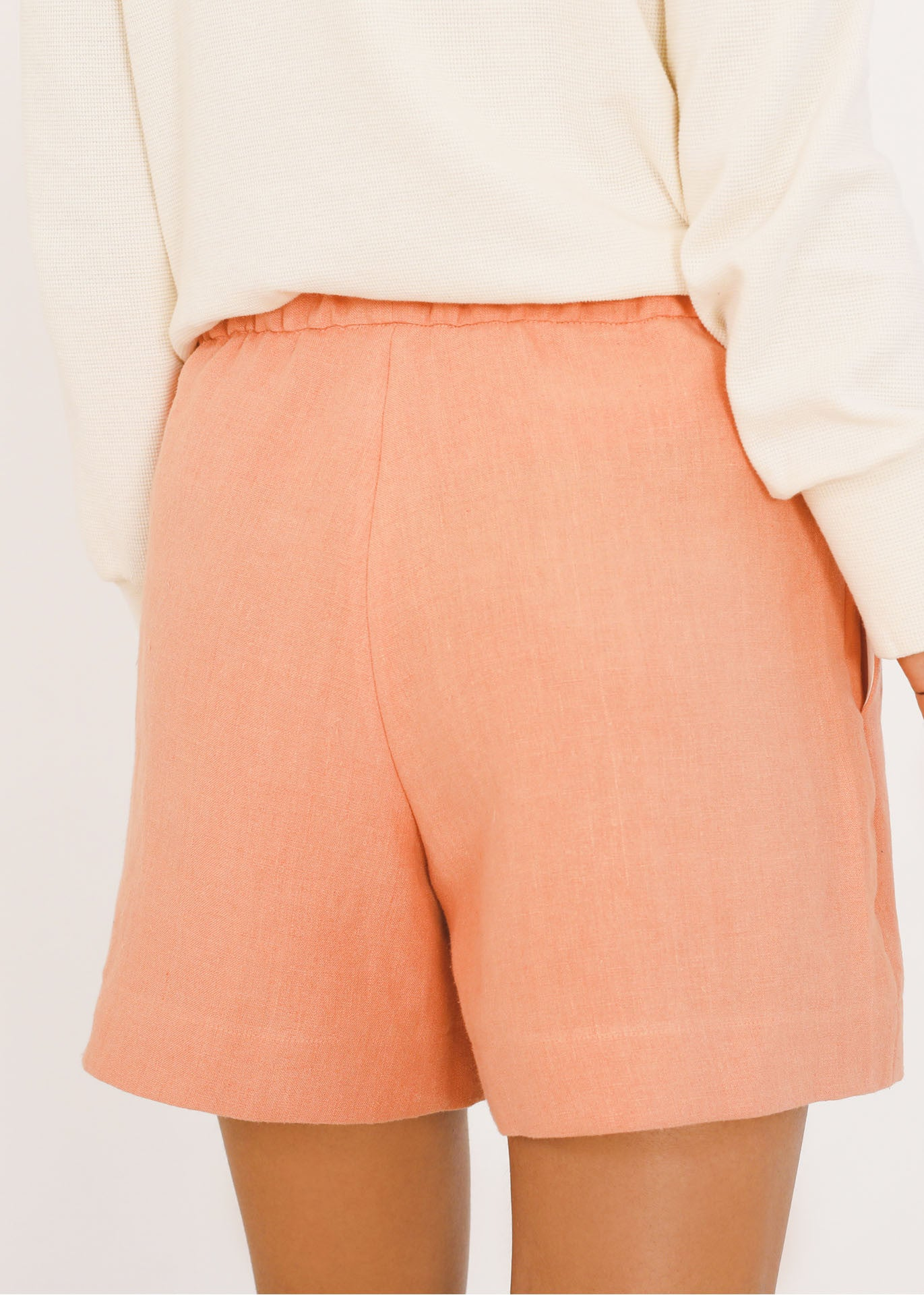 Eva - Shorts in Coral