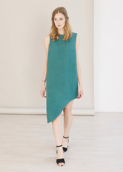 Jade - Asymmetric Dress