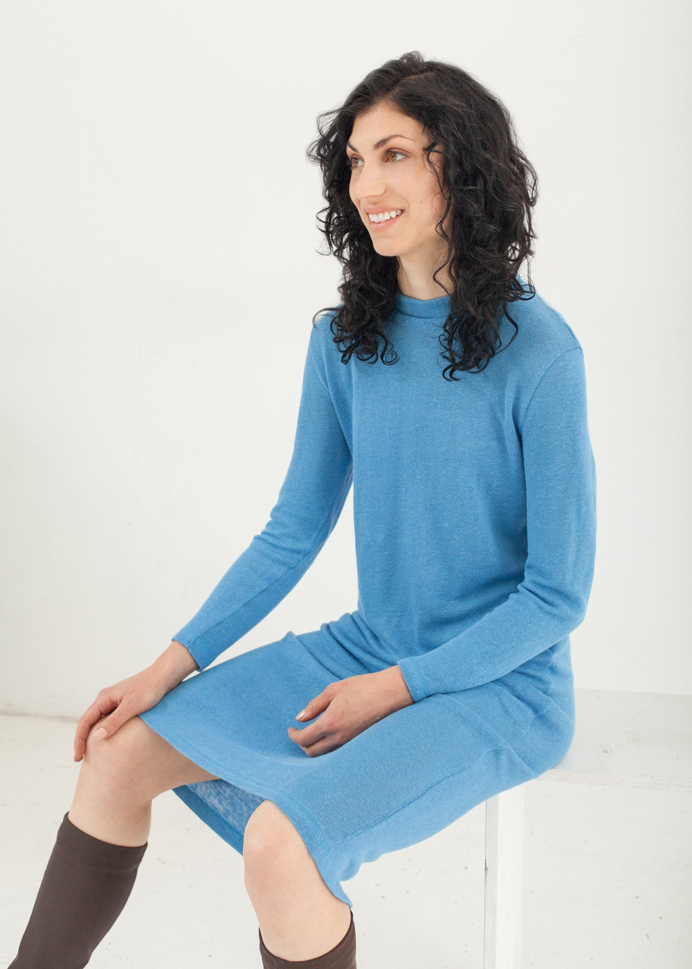 Park - hemp sweater dress