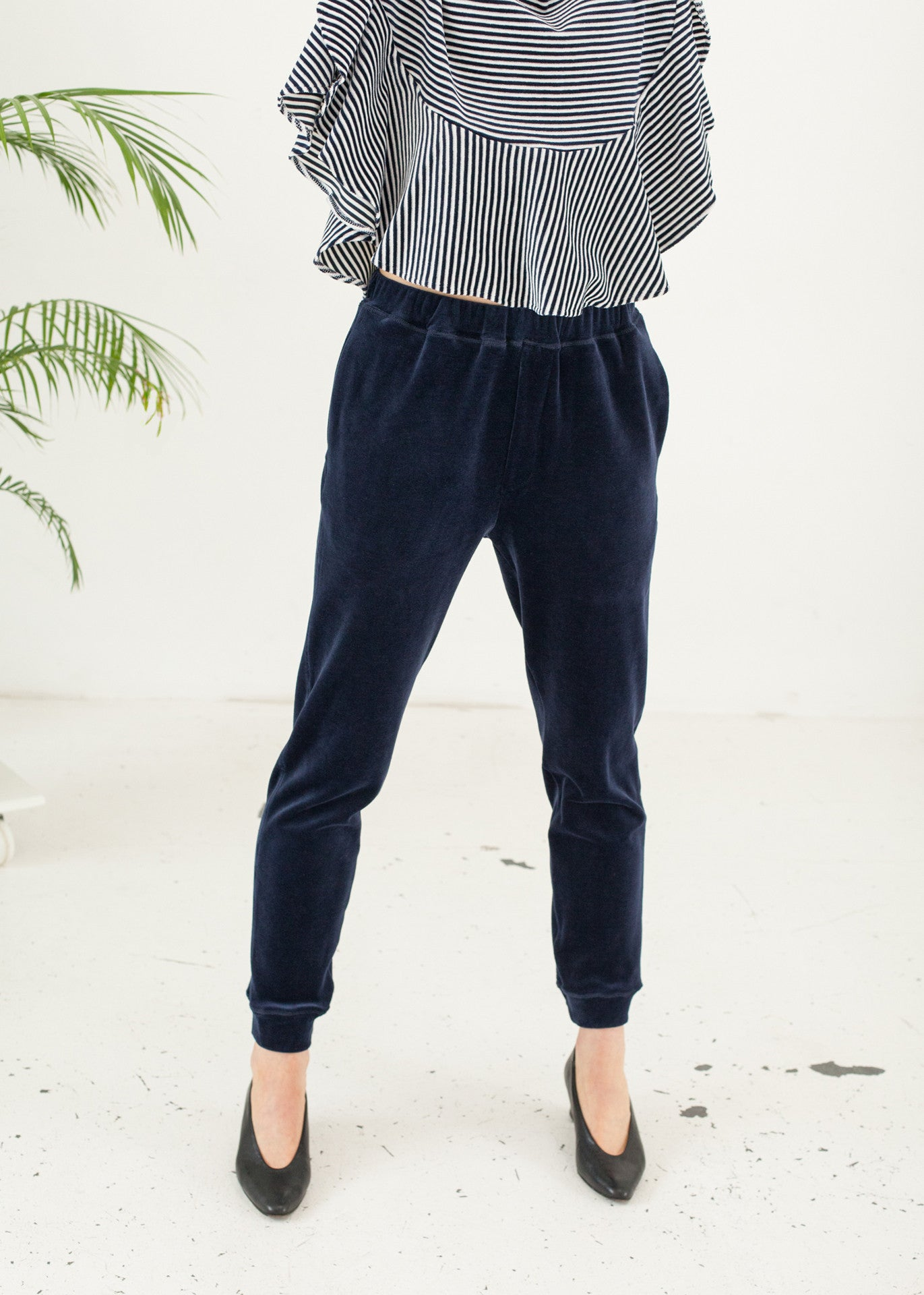Midnight - Slim-leg Sweatpants
