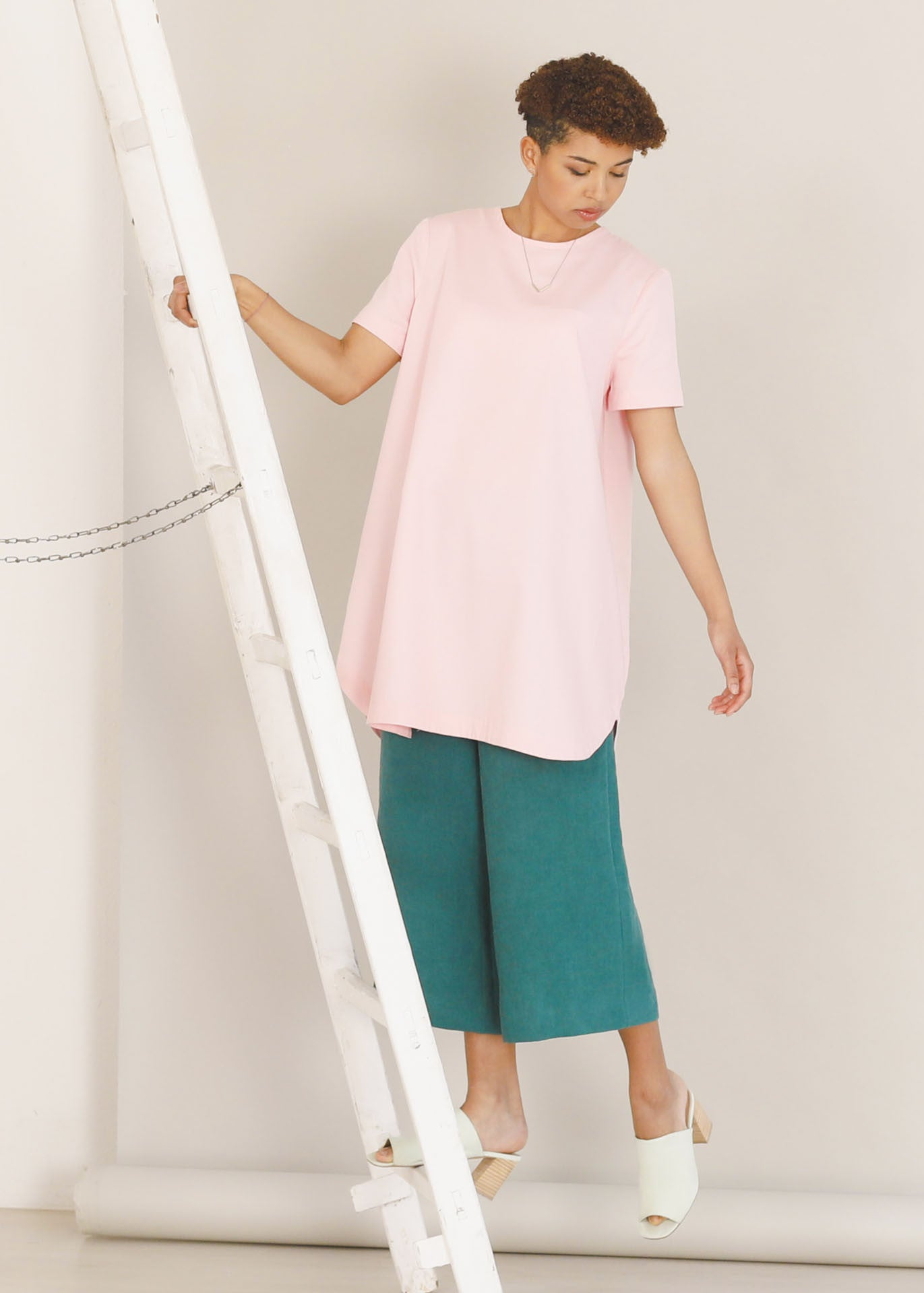 Mila - Organic cotton tunic dress