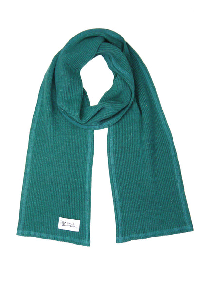 Ava - Hemp Scarf in Forest Green