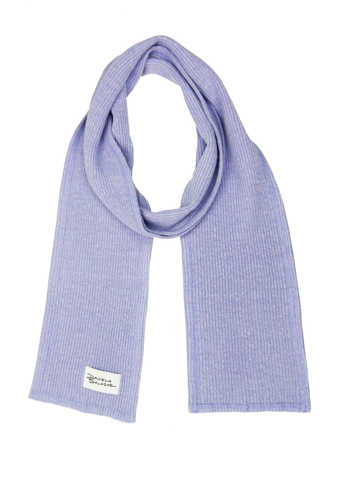 Ava - Hemp Scarf in Lavender
