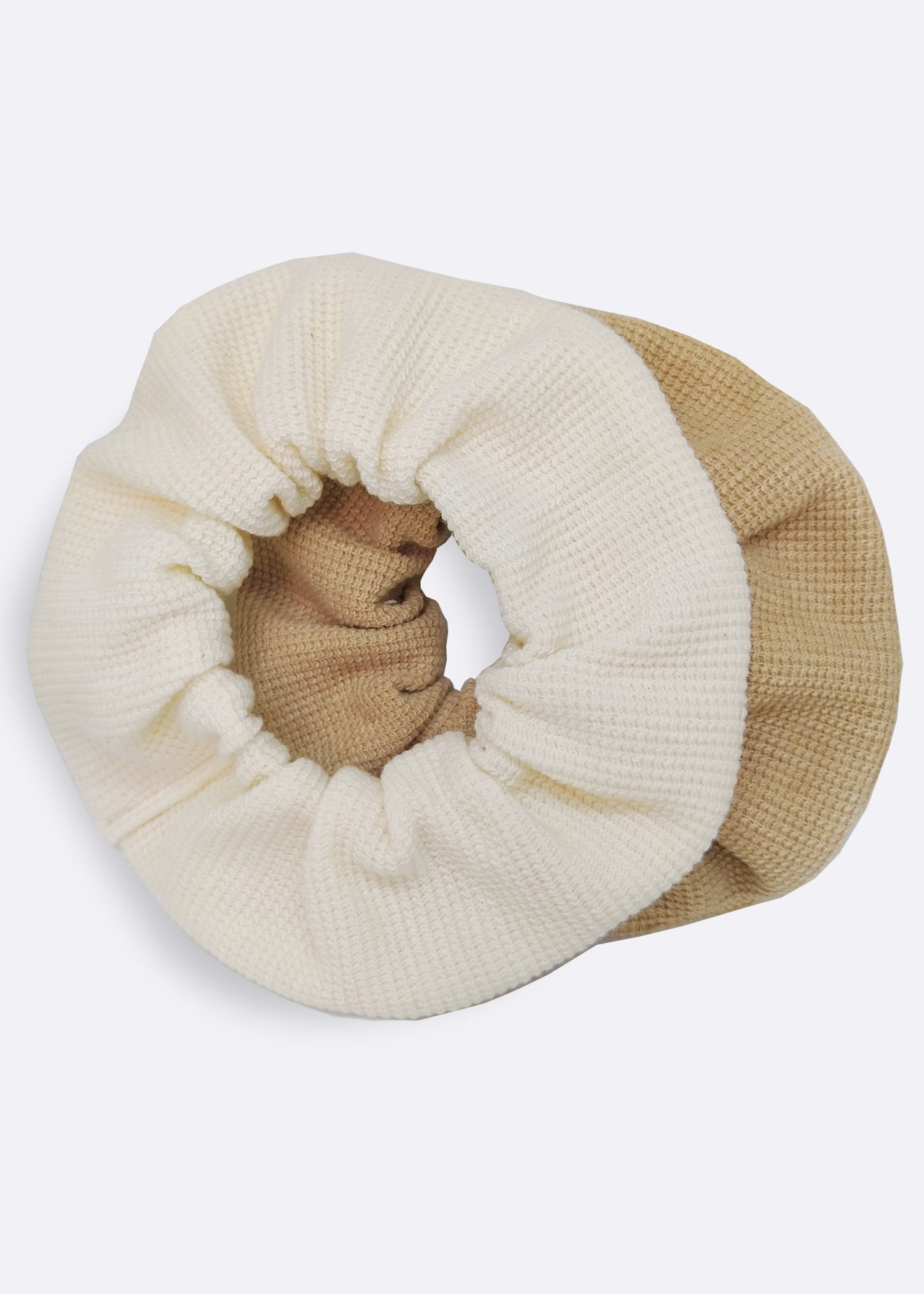 Ivory Organic Cotton Scrunchie