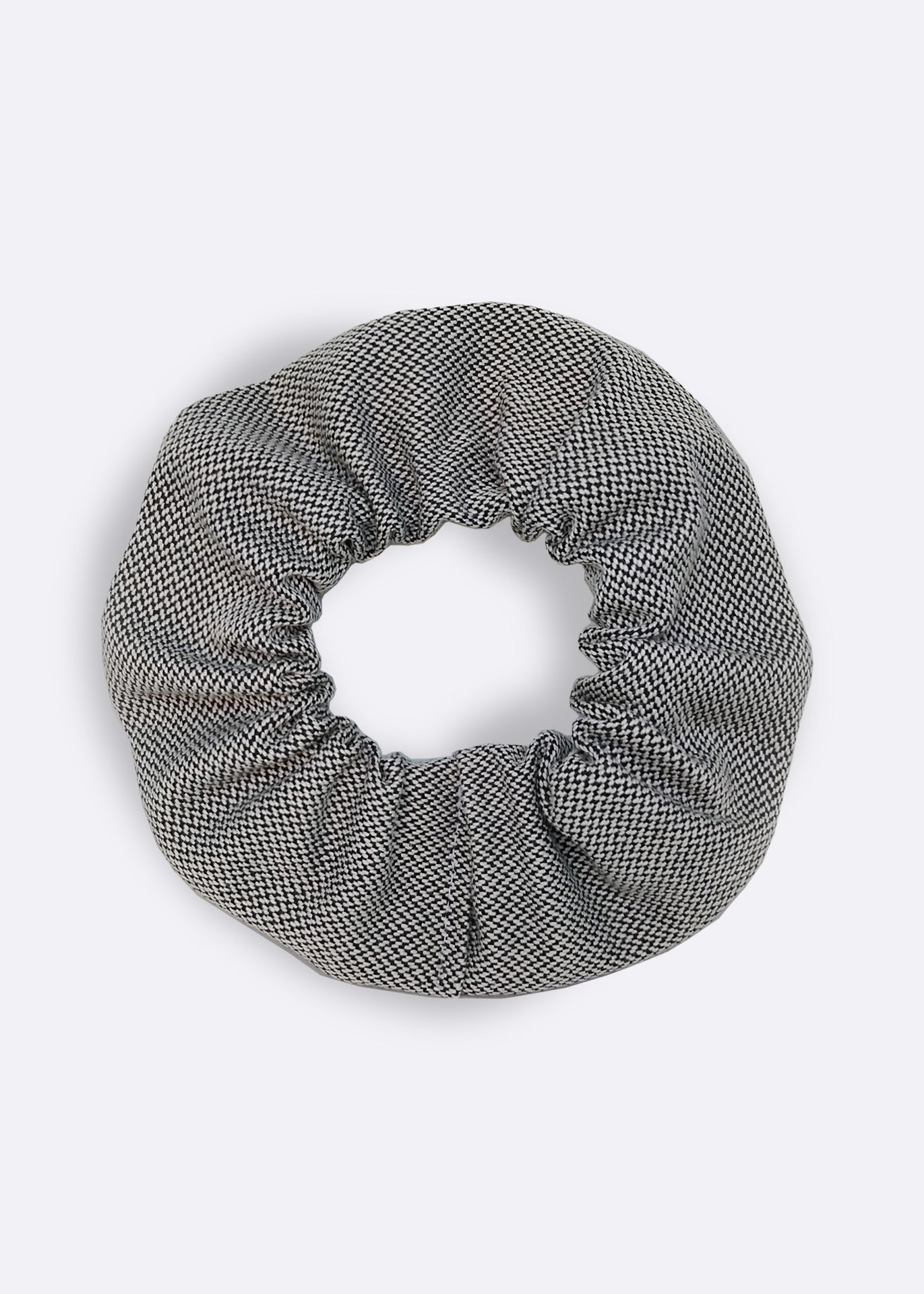 Grey Organic Cotton Scrunchie