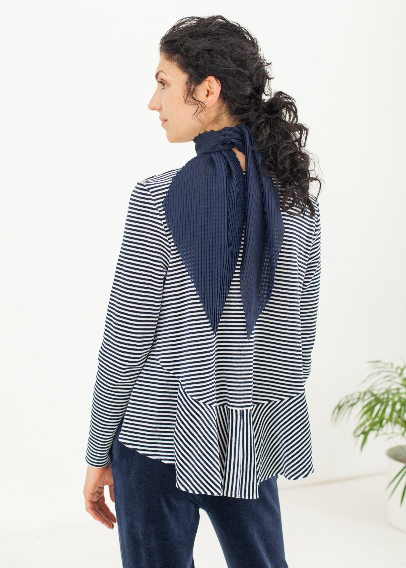 Take a line for a walk - Striped Top