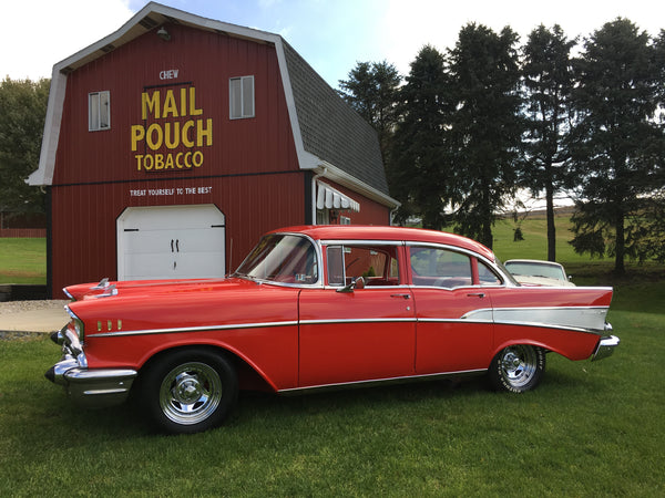 1957 Chevrolet Bel-Air Four Door Sedan