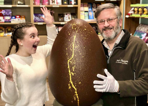 Enormous Easter Egg auction
