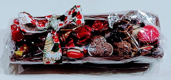 Chocolate log full of chocolates £14.95 (AVAILABLE IN STORE ONLY)