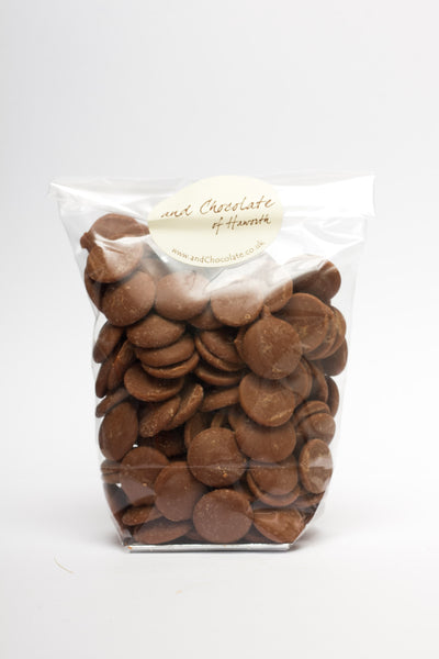 Caramel Milk Chocolate Buttons 150g