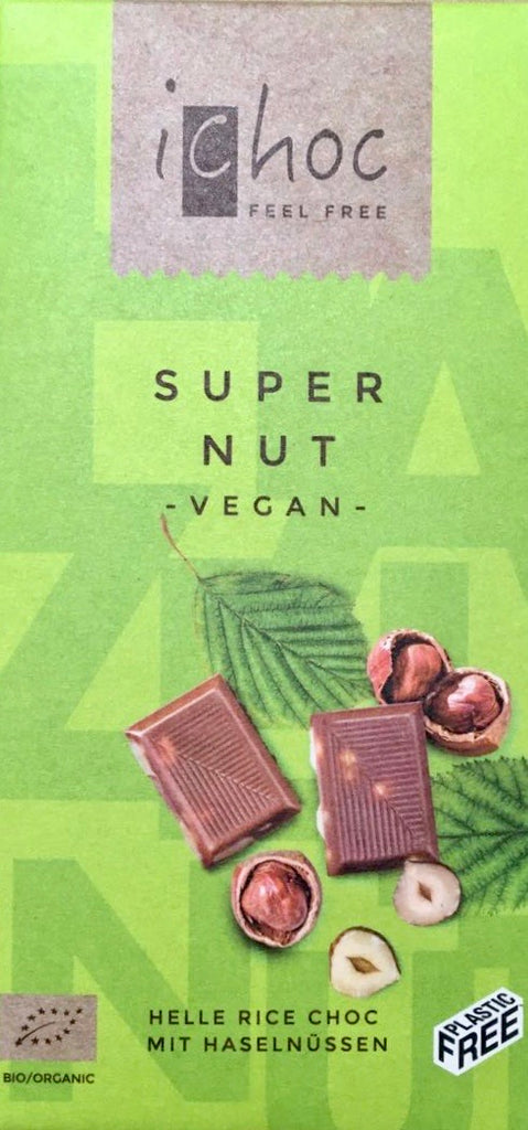 Vegan hazelnut 'milk' chocolate bar