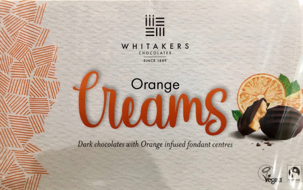 Whitakers orange chocolate creams