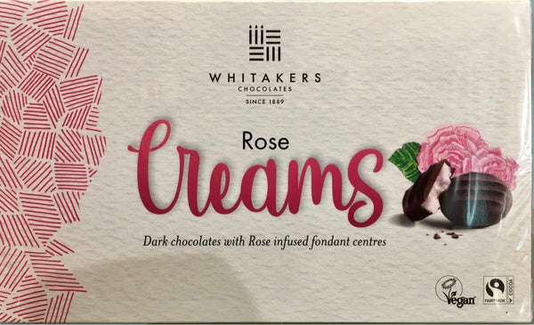 Whitakers rose chocolate creams