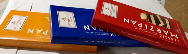 Niederegger marzipan in milk chocolate 110g