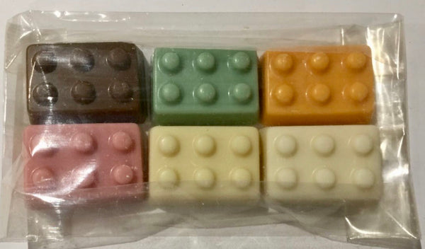 Chocolate building blocks 60g