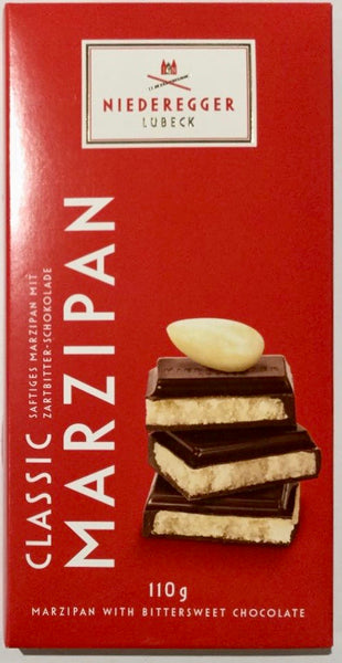 Niederegger marzipan in dark chocolate 110g