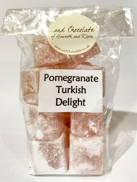 Pomegrate Turkish delight
