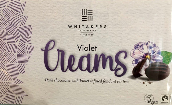 Whitakers violet chocolate creams