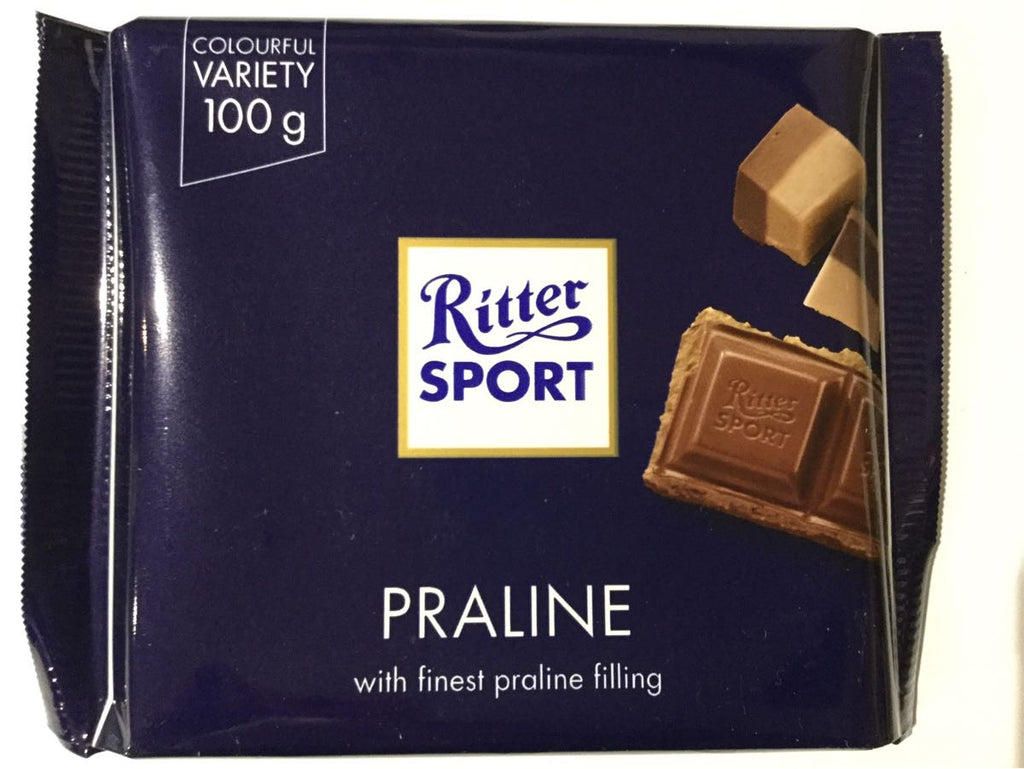 Ritter Sport Praline chocolate bar 100g