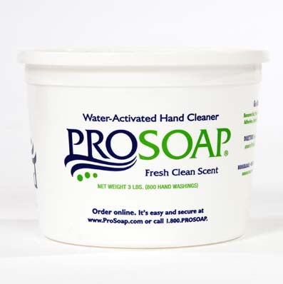 4-Pack Case ProSoap Green Paste Hand Cleaner (3 lb. Tubs)