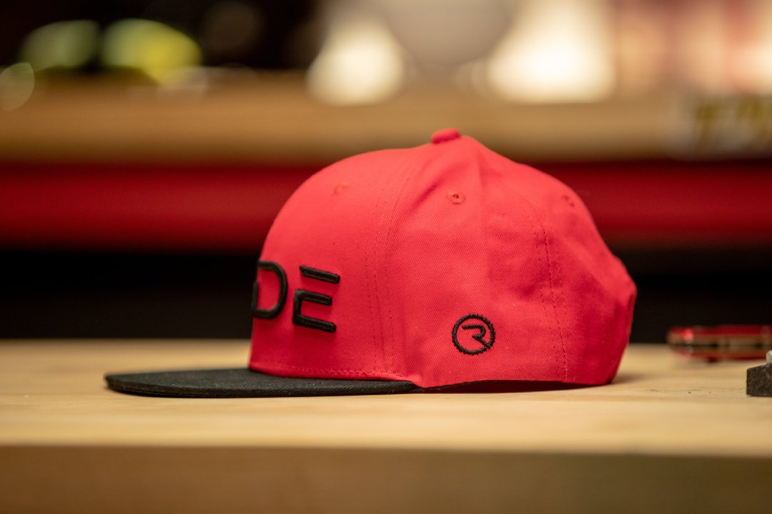 RIDE RED Snapback Hat - Ride Apparel Co.