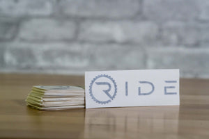 Ride Decal - Black - Ride Apparel Co.